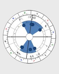 Houpačka - tvar horoskopu