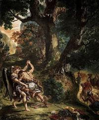 Zápas Jákoba s Andělem