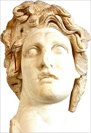 Apollón - Sluneční bůh, Rhodos