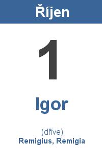 Pranostika 1.10. - Igor, Remigius, Remigia
