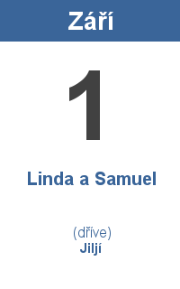 Pranostika 1.9. - Linda a Samuel, Jiljí
