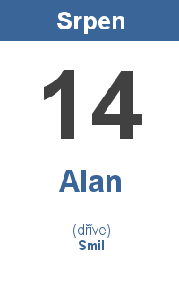 Pranostika 14.8. - Alan, Smil