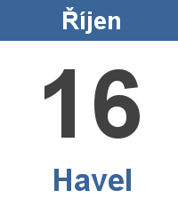 Pranostika 16.10. - Havel