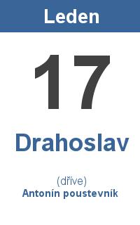 Pranostika 17.1. - Drahoslav, Antonín poustevník