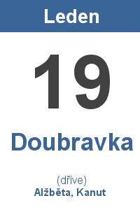 Pranostika 19.1. - Doubravka, Alžběta, Kanut