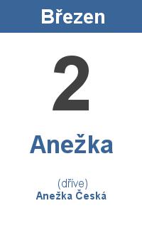 Pranostika 2.3. - Anežka, Anežka Česká