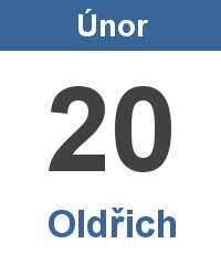 Pranostika 20.2. - Oldřich
