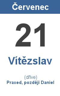 Pranostika 21.7. - Vítězslav, Praxed, později Daniel