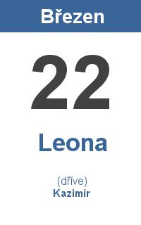 Pranostika 22.3. - Leona, Kazimír