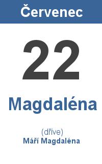 Pranostika 22.7. - Magdaléna, Máří Magdaléna
