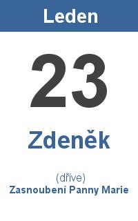 Pranostika 23.1. - Zdeněk, Zasnoubení Panny Marie