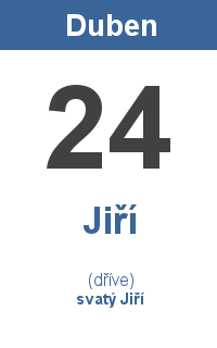Pranostika 24.4. - Jiří, svatý Jiří