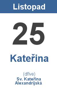 Pranostika 25.11. - Kateřina, Sv. Kateřina Alexandrijská