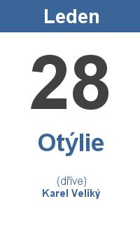 Pranostika 28.1. - Otýlie, Karel Veliký