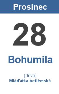 Pranostika 28.12. - Bohumila, Mláďátka betlémská