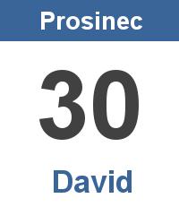 Pranostika 30.12. - David