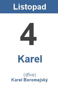 Pranostika 4.11. - Karel, Karel Boromejský
