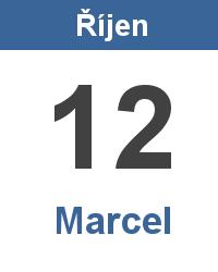 Svátek 12.10. - Marcel Jméno