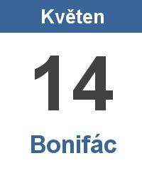 Svátek 14.5. - Bonifác Jméno