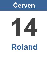 Svátek 14.6. - Roland Jméno