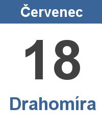 Svátek 18.7. - Drahomíra Jméno