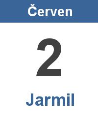 Svátek 2.6. - Jarmil Jméno