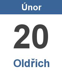 Svátek 20.2. - Oldřich Jméno