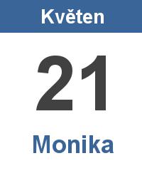 Svátek 21.5. - Monika Jméno