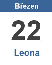 Svátek 22.3. - Leona Jméno