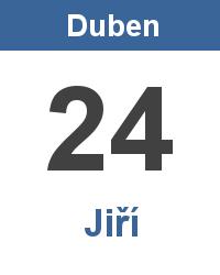 Svátek 24.4. - Jiří Jméno