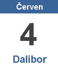 Svátek 4.6. - Dalibor Jméno