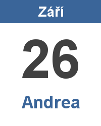 Význam jména - Andrea