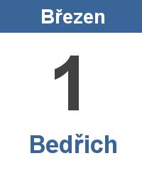 Význam jména - Bedřich