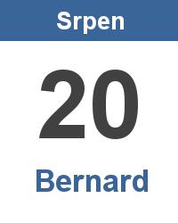 Význam jména - Bernard