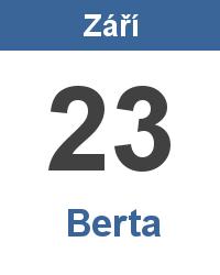 Význam jména - Berta