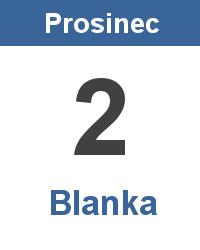Význam jména - Blanka