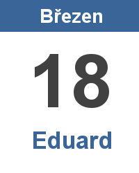 Význam jména - Eduard