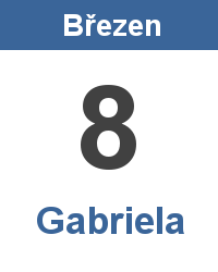 Význam jména - Gabriela