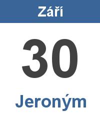 Význam jména - Jeroným