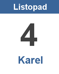 Význam jména - Karel