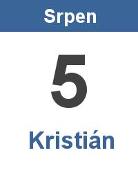Význam jména - Kristián