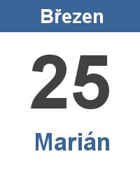 Význam jména - Marián
