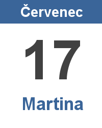 Význam jména - Martina