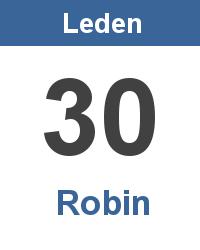 Význam jména - Robin