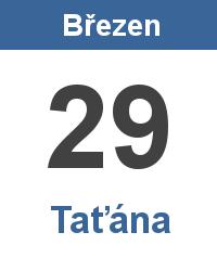 Význam jména - Taťána