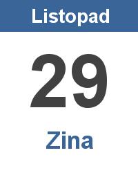 Význam jména - Zina