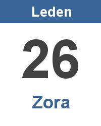 Význam jména - Zora