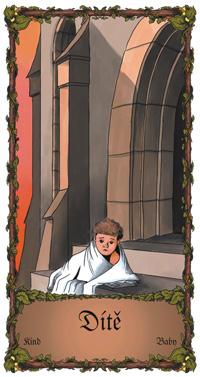 Dítě - Cikánská karta