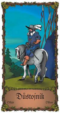 Důstojník - Cikánská karta