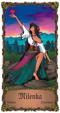Milenka - Cikánská karta